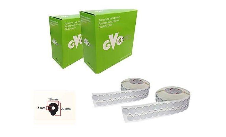 GVO Klebepads - rund 18 mm